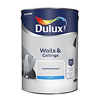 Dulux Polished pebble Matt Emulsion paint, 5L