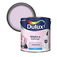 Dulux Pretty pink Matt Emulsion paint 2.5L