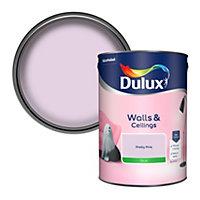 Dulux Pretty pink Silk Emulsion paint, 5L