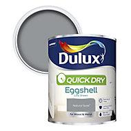 Dulux Quick dry Natural slate Eggshell Metal & wood paint, 0.75L