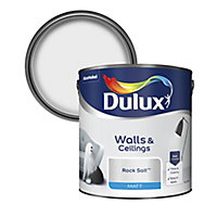 Dulux Rock salt Matt Emulsion paint 2.5L
