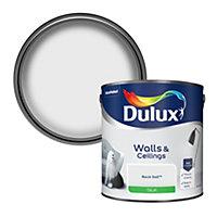 Dulux Rock salt Silk Emulsion paint, 2.5L