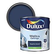 Dulux Sapphire salute Silk Emulsion paint 2.5L