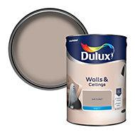 Dulux Soft truffle Matt Emulsion paint, 5L