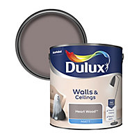 Dulux Standard Heart wood Matt Emulsion paint 2.5L