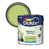 Dulux Standard Kiwi crush Matt Emulsion paint, 2.5L