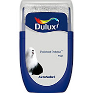 Dulux Standard Polished pebble Matt Emulsion paint 30ml Tester pot