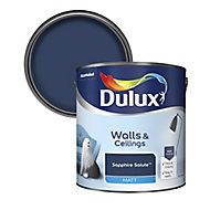 Dulux Standard Sapphire salute Matt Emulsion paint 2.5L