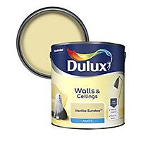 Dulux Standard Vanilla sundae Matt Emulsion paint, 2.5L