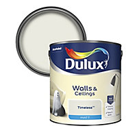 Dulux Timeless Matt Emulsion paint, 2.5L