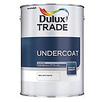 Dulux Trade Brilliant white Undercoat, 2.5L