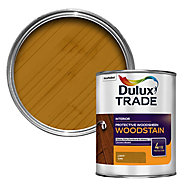 Dulux Trade Light oak Satin Wood stain, 1L