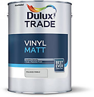Dulux Trade Polished pebble Vinyl matt Emulsion paint 5L