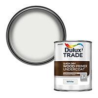 Dulux Trade White Wood Primer & undercoat, 1L