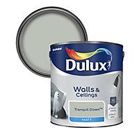Dulux Tranquil dawn Matt Emulsion paint, 2.5L