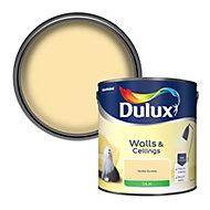 Dulux Vanilla sundae Silk Emulsion paint, 2.5L