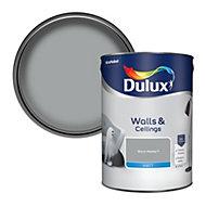 Dulux Warm pewter Matt Emulsion paint, 5L
