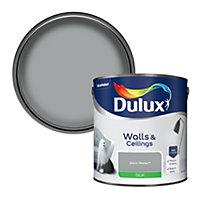 Dulux Warm pewter Silk Emulsion paint 2.5L