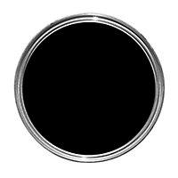 Dulux Weathershield Black Gloss Metal & wood paint, 2.5L