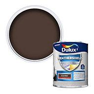 Dulux Weathershield Conker Gloss Metal & wood paint, 750ml