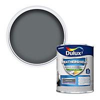 Dulux Weathershield Gallant grey Satin Metal & wood paint, 750ml