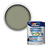 Dulux Weathershield Green glade Satin Metal & wood paint, 750ml