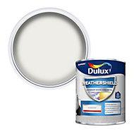 Dulux Weathershield Pure brilliant white Gloss Metal & wood paint, 750ml