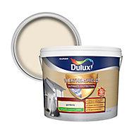 Dulux Weathershield Ultimate protection Gardenia Smooth Matt Masonry paint, 10L
