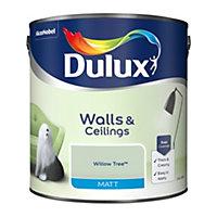 Dulux Willow tree Matt Emulsion paint, 2.5L