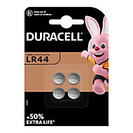Duracell Non-rechargeable LR44 Battery, Pack of 2