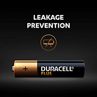 Duracell Plus Non-rechargeable AAA Battery, Pack of 8