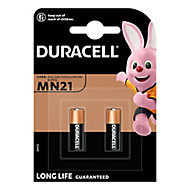 Duracell Security Non-rechargeable MN21 Battery, Pack of 2