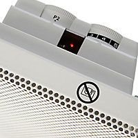 Electric 1500kW White Panel heater