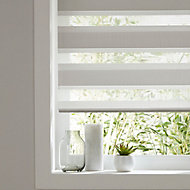 Elin Corded Linen Striped Day & night Roller Blind (W)60cm (L)180cm