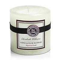 Elizabeth Williams Cassis & plum blossom Pillar candle
