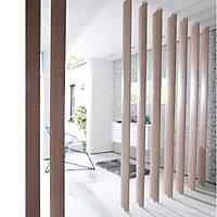 Ella White oak Room divider single blade