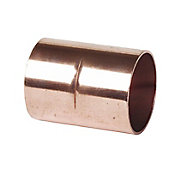 End feed Straight Coupler (Dia)15mm, Pack of 4