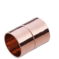 End feed Straight Coupler (Dia)22mm, Pack of 2