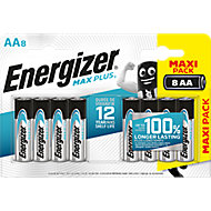 Energizer Alkaline Non-rechargeable AA Battery, Pack of 8