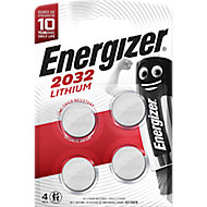 Energizer Specialty Non-rechargeable CR2032 Battery, Pack of 4