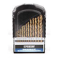 Erbauer 13 piece Metal Drill bit Set