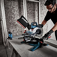 Erbauer 1400W 220-240V 210mm Sliding mitre saw EMIS216S