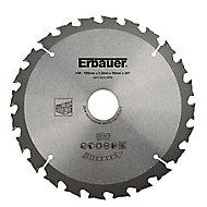 Erbauer 24T Circular saw blade (Dia)190mm