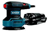 Erbauer 400W 220-240V Corded Random orbit sander ERO400