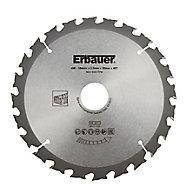Erbauer 40T Circular saw blade (Dia)184mm