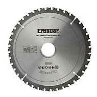 Erbauer 40T Circular saw blade (Dia)190mm