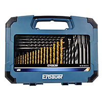Erbauer 80 piece Mixed Drill bit Set