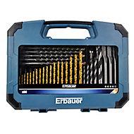 Erbauer 80 piece Mixed Drill bit