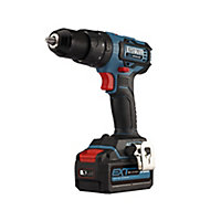 Erbauer EXT 18V 4Ah Li-ion Cordless 4 piece Power tool kit