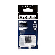 Erbauer PH1 Impact Screwdriver bits 25mm, Pack of 3